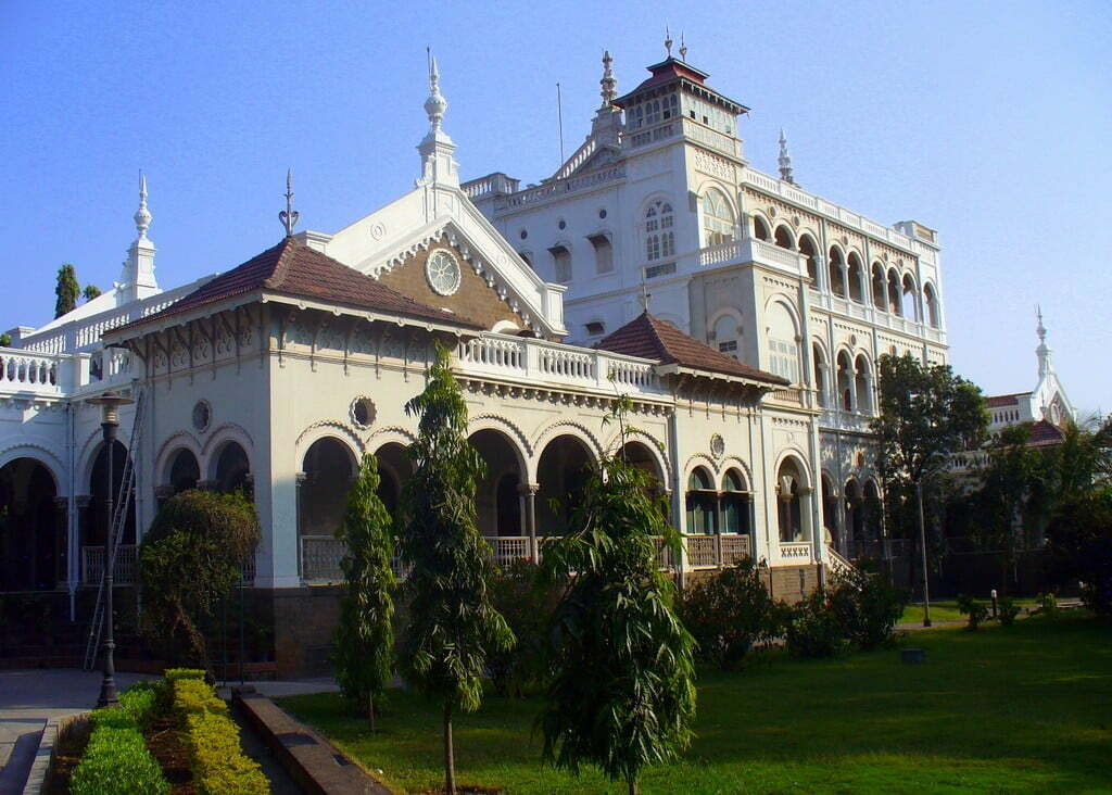 AgaKhan Palace in Pune. Kasturbha Gandhi, wife of Mahatma Gandhi, died here