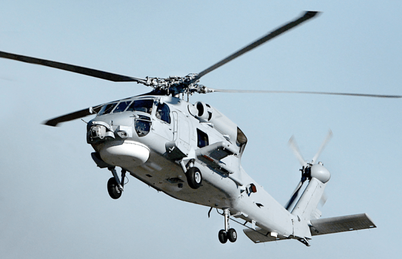 Indian_Navy Helicopter
