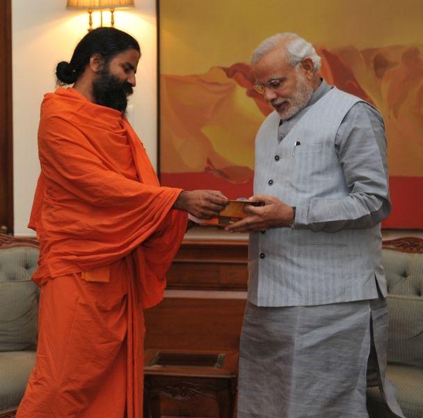 Baba_Ramdev_meets_PM_Modi