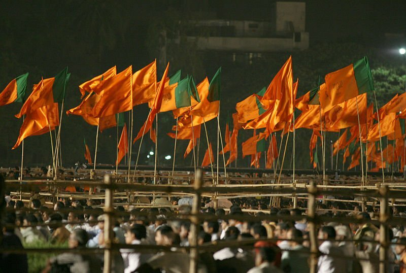 800px-BJP_and_Shiv_Sena_flags_-_Flickr_-_Al_Jazeera_English