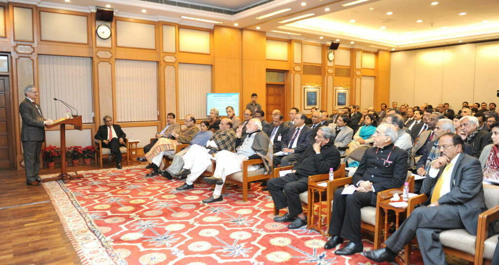 Modi with Group of Secretaries
