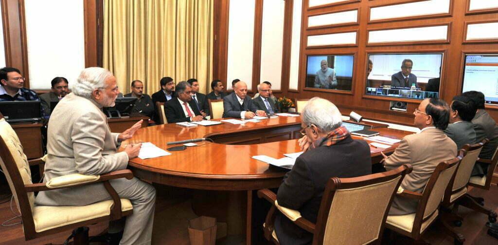 Modi video conferencing