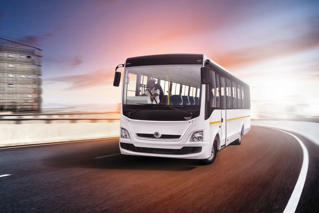 BharatBenz 917 staff bus