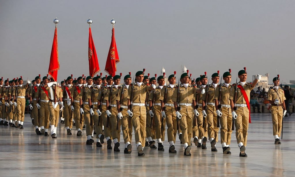 Pakistan Army parade