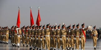 Pakistan Army parade