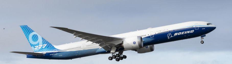 Boeing 777X Takeoff