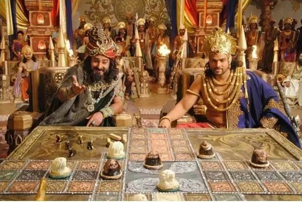 Shakuni and the game of dice