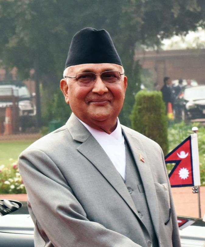 KP Sharma Oli, Prime Minister of Nepal