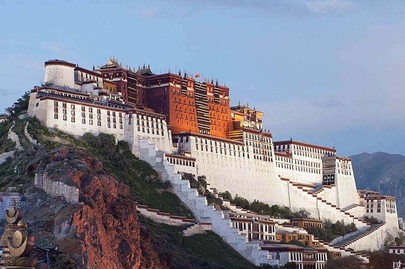 Patola palace tibet
