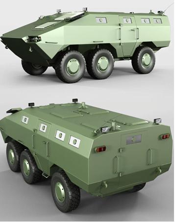 wheeled combat vehicles (WCV) 3