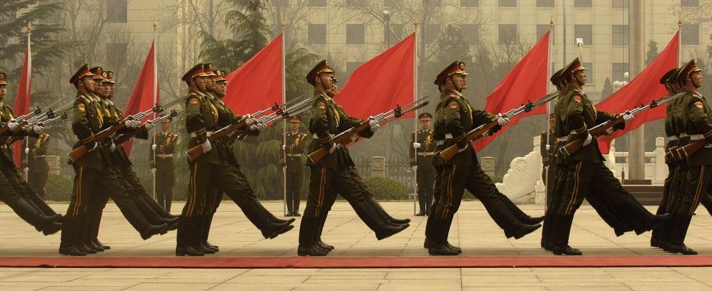 Chinese PLA parade