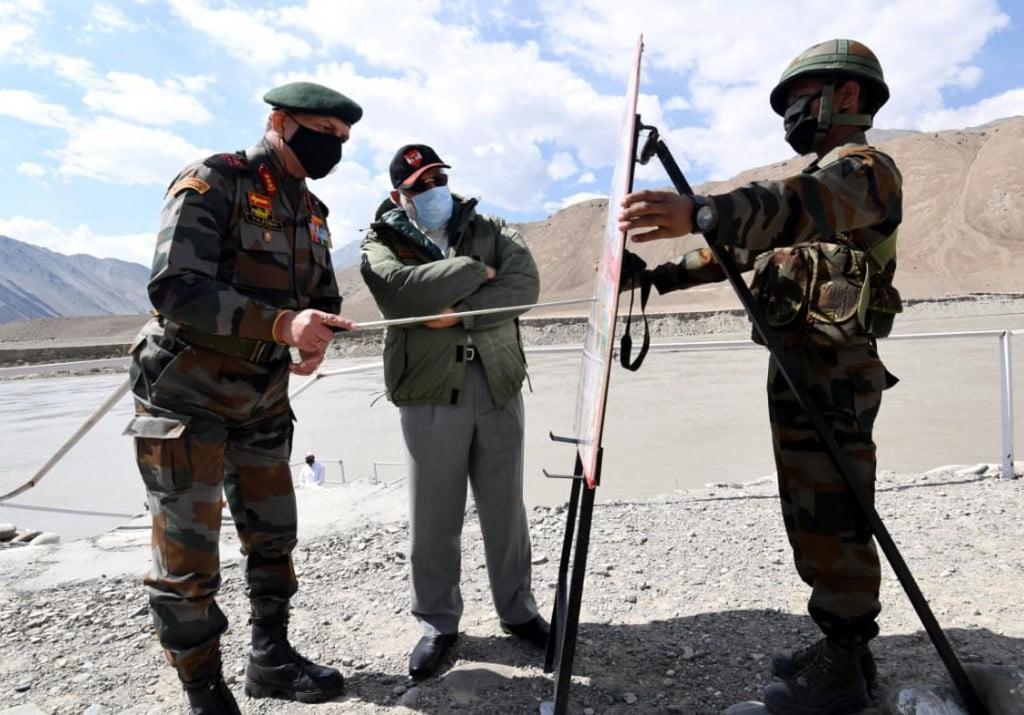 The Prime Minister, Shri Narendra Modi visits Leh, Ladakh on July 03, 2020.