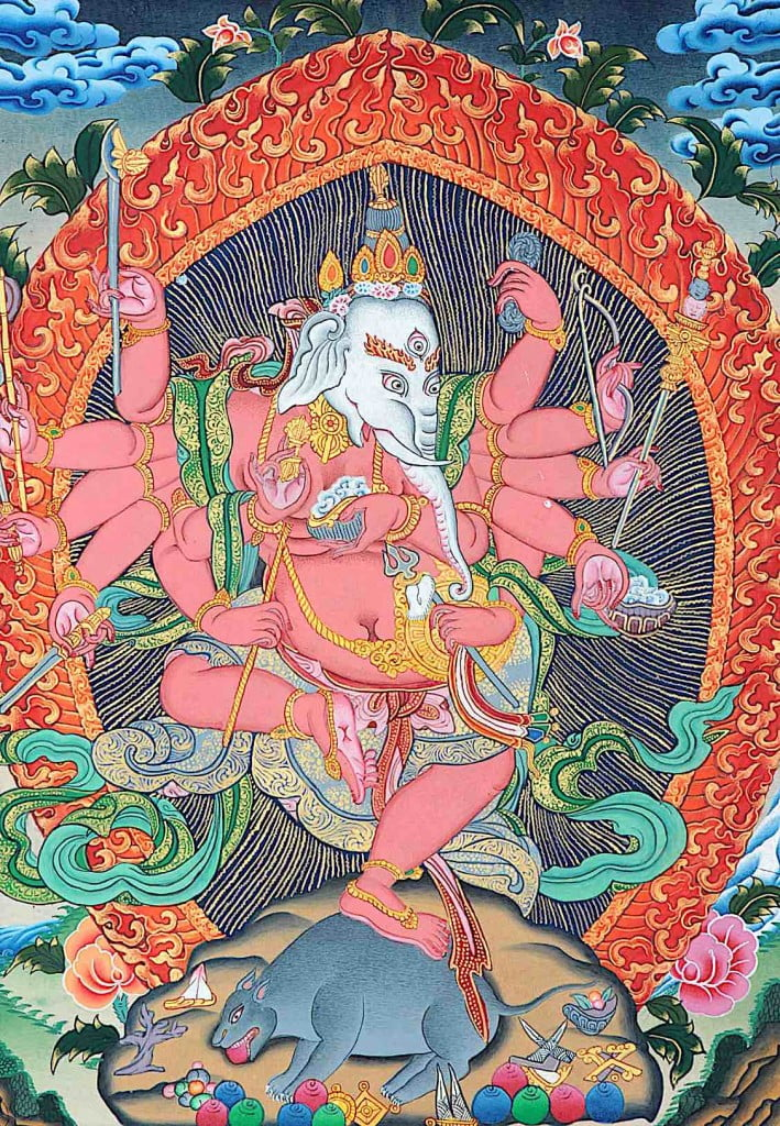 Ganesha-Tibetan-Buddhism