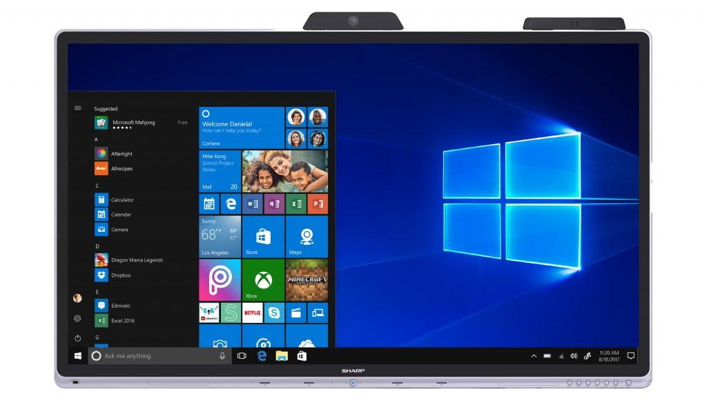 Windows Colaboratiion Display