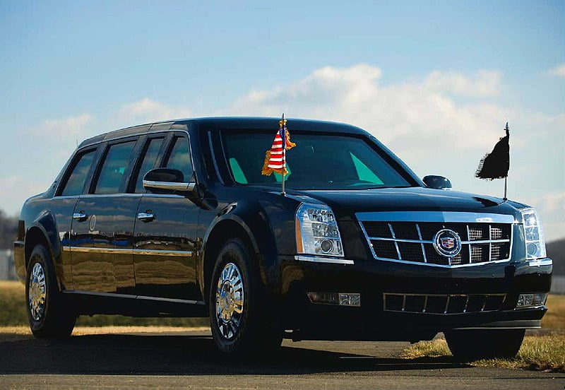 Bulletproof Limousine of the Presidents of USA