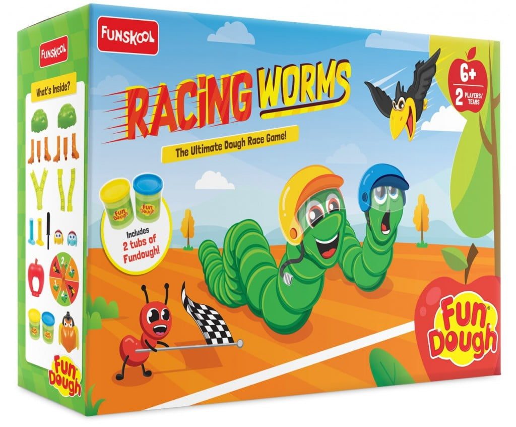 Fundough_Racing_Worms