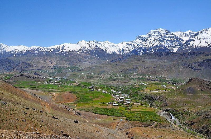 Mashkoh valley