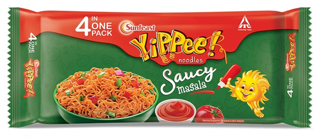 Sunfeast YiPPee!, is known for its round instant noodle blocks and long slurpy noodles