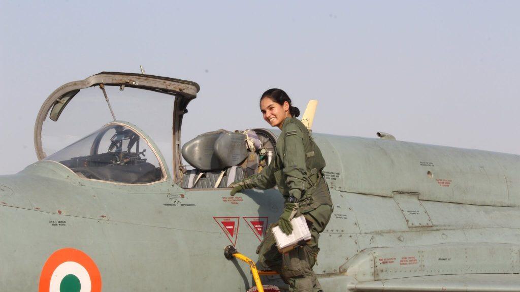 Avani Chaturvedi women IAF officer