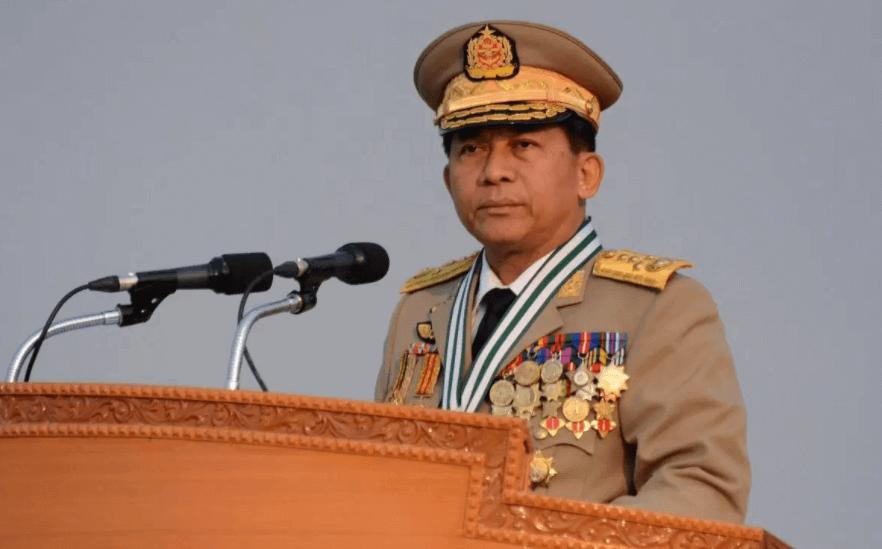 Senior General Min Aung Hlaing Myanmar Army