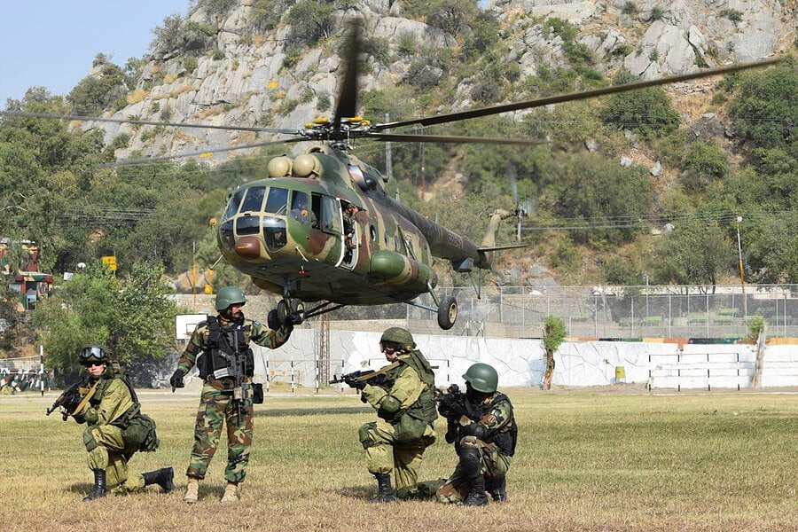 Russian and Pakistan joint military excercise