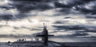 submarine indian ocean