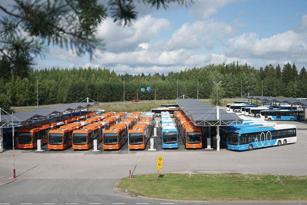 BYD buses