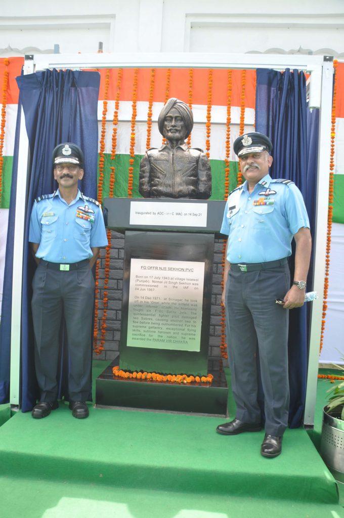 Flying Officer Nirmal Jit Singh Sekhon